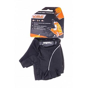Спортивные перчатки Liveup MEN CYCLING GLOVES LSU5050M-BGS - фото 2