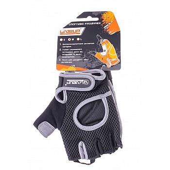 Спортивные перчатки Liveup MEN FITNESS GLOVES LSU1580M-BGS - фото 2