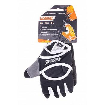 Спортивные перчатки Liveup  WOMEN FITNES GLOVES LSU3198L-BWS - фото 2