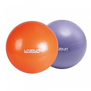 Мяч LiveUp Mini Ball фиолетовый  20см - фото 2