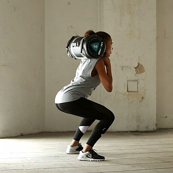 Мешок для кроссфита LivePro POWER BAG черный/серый - фото 2