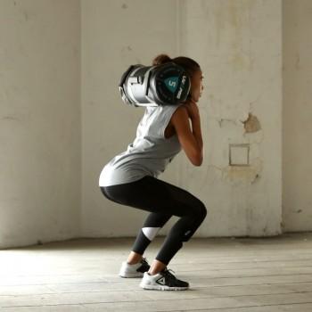 Мешок для кроссфита LivePro POWER BAG черный/серый 20 кг - фото 2