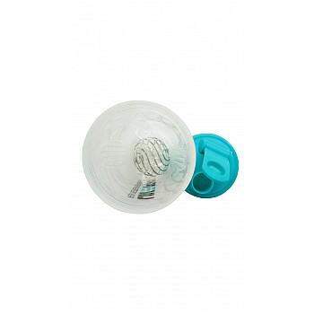 Шейкер спортивный  LivePro  SHAKE BOTTLE  белый/синий