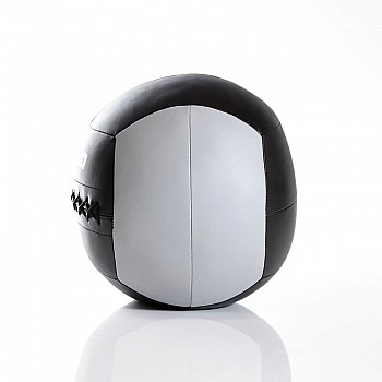 Мяч для кроcсфита LivePro WALL BALL черный/серый 10 кг - фото 2