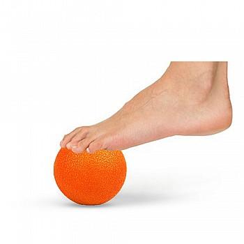 Мячик для массажа LivePro MUSCLE ROLLER BALL оранжевый - фото 2