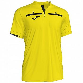 Судейская футболка Joma REFEREE желтая к/р