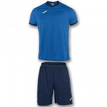 Комплект футбольной формы Joma ACADEMY сине-тёмно-синий футболка и шорты