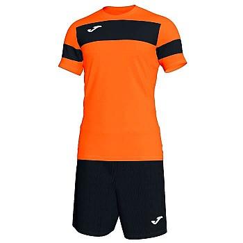 Комплект футбольной формы Joma ACADEMY II оранжево-черный
