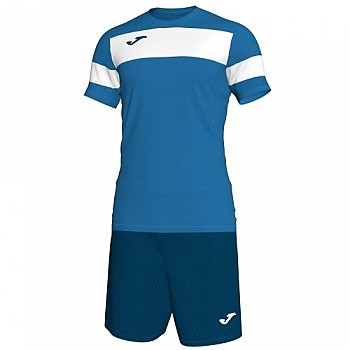 Комплект футбольной формы Joma ACADEMY II сине-белый