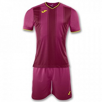 Комплект футбольной формы Joma PRO-LIGA пурпурный