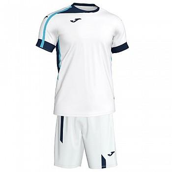 Комплект футбольной формы Joma ROMA II бело-т.синий