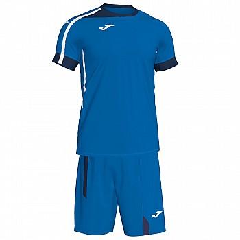 Комплект футбольной формы Joma ROMA II сине-т.синий