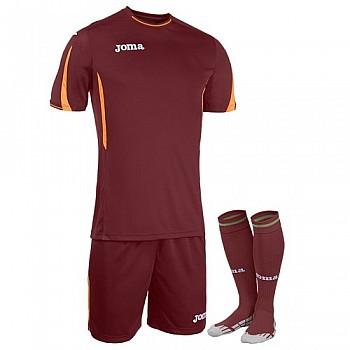 Комплект футбольной формы Joma ROMA бордовый