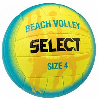 Мяч волейбольный Select BEACH VOLLEY NEW сине-желтый