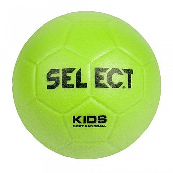 Мяч гандбольный SELECT Soft Kids лаймовый
