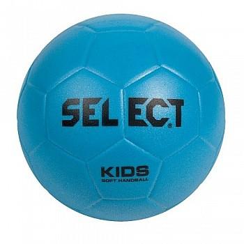 Мяч гандбольный SELECT Kids Soft голубой