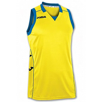 Баскетбольная форма Joma CANCHA II желто-синяя 2XL-3XL