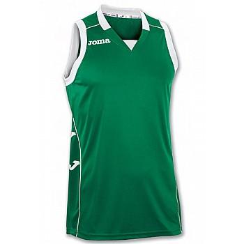 Баскетбольная форма Joma CANCHA II зелено-белая XL
