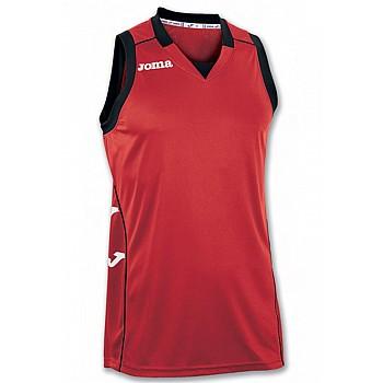 Баскетбольная форма Joma CANCHA II красно-черная XL