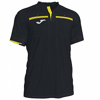 Судейская футболка Joma RESPECT II черно-желтая