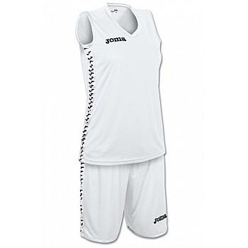 Баскетбольная форма Joma PIVOT SET женская белая
