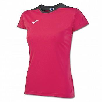 Волейбольная футболка Joma SPIKE женская розовая