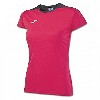 Волейбольная футболка Joma SPIKE женская розовая - фото 2