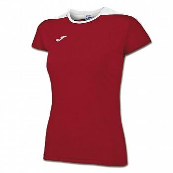Волейбольная футболка Joma SPIKE женская красная
