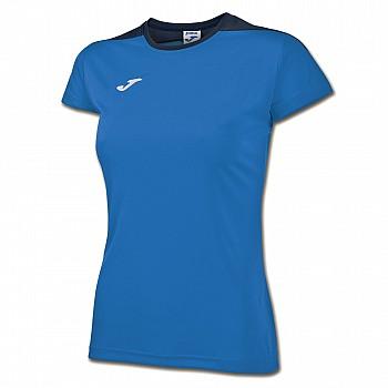 Волейбольная футболка Joma SPIKE женская синяя