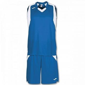 Комплект баскетбольной формы Joma FINAL сине-белый