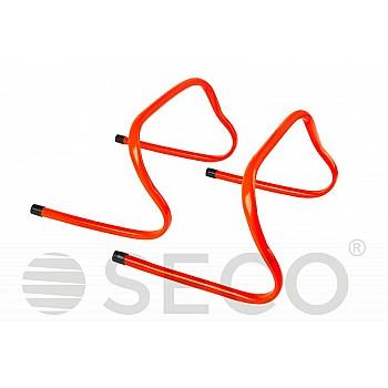 Барьер для бега SECO® 23 см оранжевого цвета - фото 2