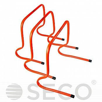 Барьер для бега SECO® 40 см оранжевого цвета - фото 2
