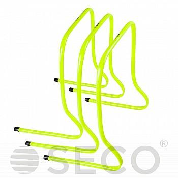 Барьер для бега SECO® 50 см желтого цвета