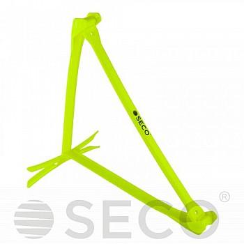 Раскладной барьер для бега SECO® 15-33 см неонового цвета