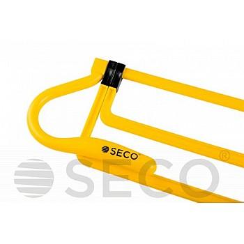 Раскладной барьер для бега SECO® желтого цвета