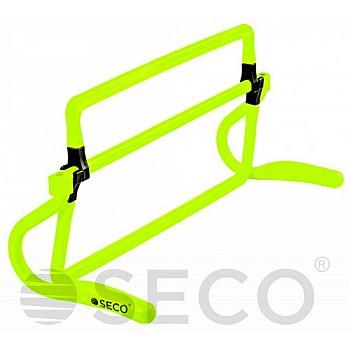 Раскладной барьер для бега SECO® неонового цвета