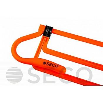 Раскладной барьер для бега SECO® оранжевого цвета
