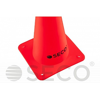 Тренировочный конус SECO® 15 см красного цвета - фото 2