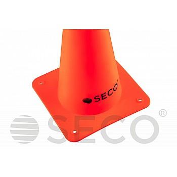 Тренировочный конус SECO® 15 см оранжевого цвета - фото 2