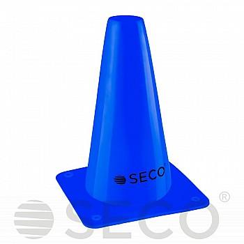 Тренировочный конус SECO® 15 см синего цвета