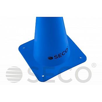 Тренировочный конус SECO® 15 см синего цвета - фото 2