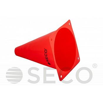 Тренировочный конус SECO® 18 см красного цвета - фото 2