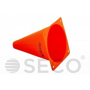 Тренировочный конус SECO® 18 см оранжевого цвета - фото 2