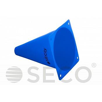 Тренировочный конус SECO® 18 см синего цвета