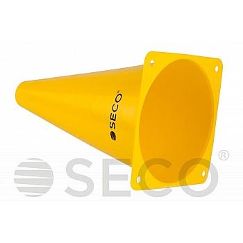 Тренировочный конус SECO® 23 см желтого цвета - фото 2