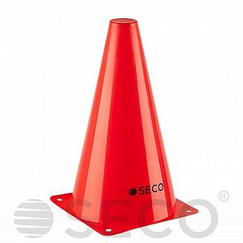 Тренировочный конус SECO® 23 см красного цвета