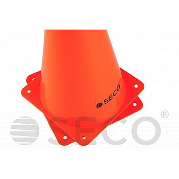 Тренировочный конус SECO® 23 см оранжевого цвета - фото 2