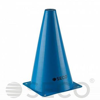 Тренировочный конус SECO® 23 см синего цвета