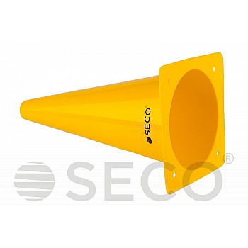 Тренировочный конус SECO® 32 см желтого цвета - фото 2
