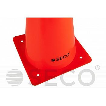 Тренировочный конус SECO® 32 см оранжевого цвета - фото 2